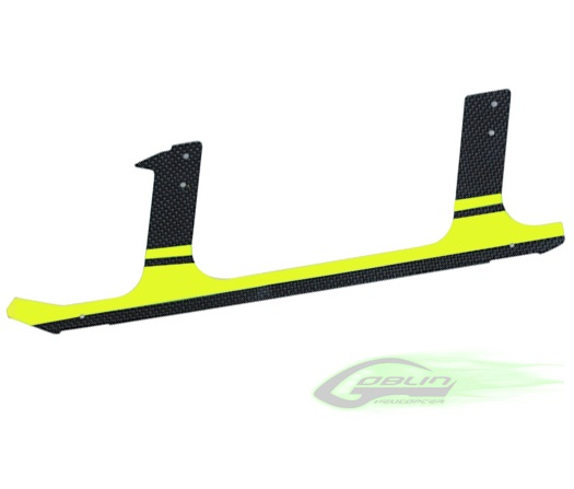SAB Low Profile CF landing gear - Goblin 630/700 - Yellow (1pc)